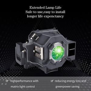 Image 4 - באיכות גבוהה מקרן הנורה ELPLP42/V13H010L42 EMP 83H EMP 410WE EMP 280 EMP 270 EMP 822H EMP 400WE H281A מנורת מקרן