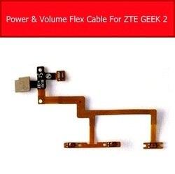 Ligar/desligar o cabo flexível do botão lateral do volume de energia para zte geek ii 2 volume de energia sidekey botão flex fita peças de reposição