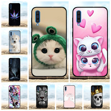For Samsung Galaxy A50 Case Soft TPU Silicone SM-A505F Cover Cute Patterned Funda