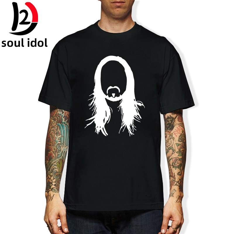 D2 STEVE AOKI - Printed Mens T Shirt Graphic EDM House Music Festival Ibiza Electro TShirt Tee Shirt Unisex More Size and Colors image