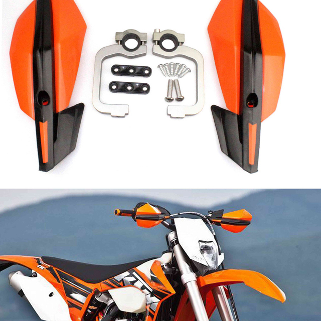 2020 Handlebar Handguards for 250 Exc-F 350 450 500 Six Days Xc-W 150 250 300 Motorcycle Accessories Protector Hand Guard