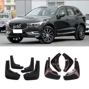 Image 3 - Front Rear Car Mud Flaps For Volvo XC60 2018 2019 2020 Mudflaps Splash Guards Mud Mudguards Accessories 4PCS gray blue  fender