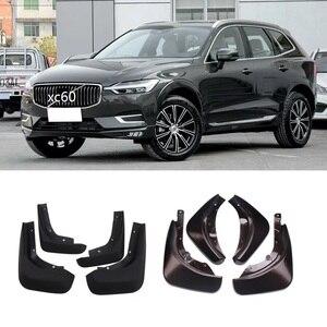 Image 3 - Передние и задние Автомобильные Брызговики для Volvo XC60 2018 2019 2020, брызговики, брызговики, бритвы, 4 шт., серый, синий брызговик