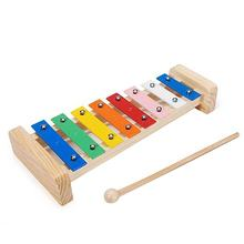 8-Tone Aluminum Piano Aid Percussion Instrument Children'S Octave Knocking On The Piano Playing The Piano(China)