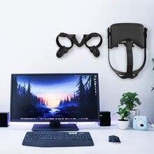 Vr ganchos de parede suporte de montagem suporte para oculus quest fone de ouvido e controlador