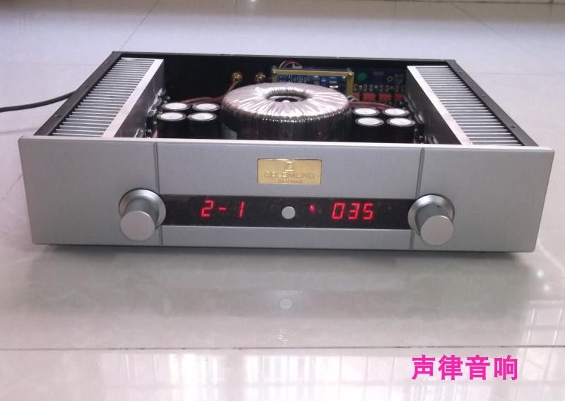 SL-106 combined with remote control fever amplifier HIFI amplifier diy fever high power amplifier 2..0