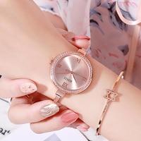 【Low Price】Binzi Brand Watch Women Watches Relogio Feminino Creative Chain Steel Strap Women's Bracelet Watch Female Clock