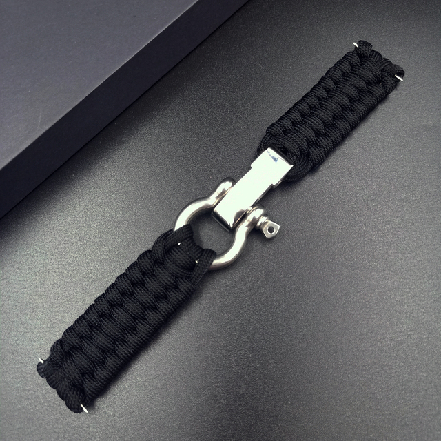 20 22mm Strap for Samsung Galaxy Watch 3 41mm 45mm Watch Band 42mm 46mm for Huawei Watch GT 2e Adjustable Buckle Rope Bracelet 5