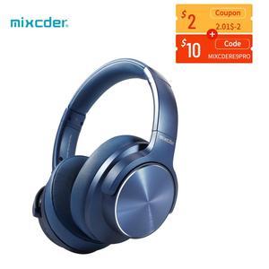 Mixcder E9 PRO Aptx HD наушники беспроводные Bluetooth наушники с активным шумоподавлением USB быстрая зарядка с микрофоном синие гарнитуры