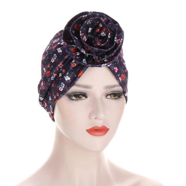 Купить новый цветочный тюрбан шляпы для женщин химиотерапия рак головные картинки цена