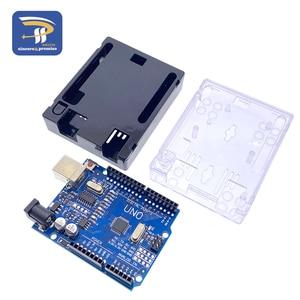 Image 4 - UNO R3 CH340Cบอร์ดพัฒนากรณีATmega328Pชิป16Mhz CH340 CH340GสำหรับArduino DIYชุดสายUSB