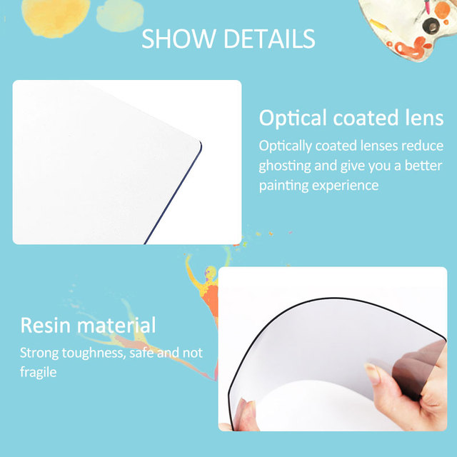 Children's Optical Assistant Tracing Drawing Board Projector Drawing Kit