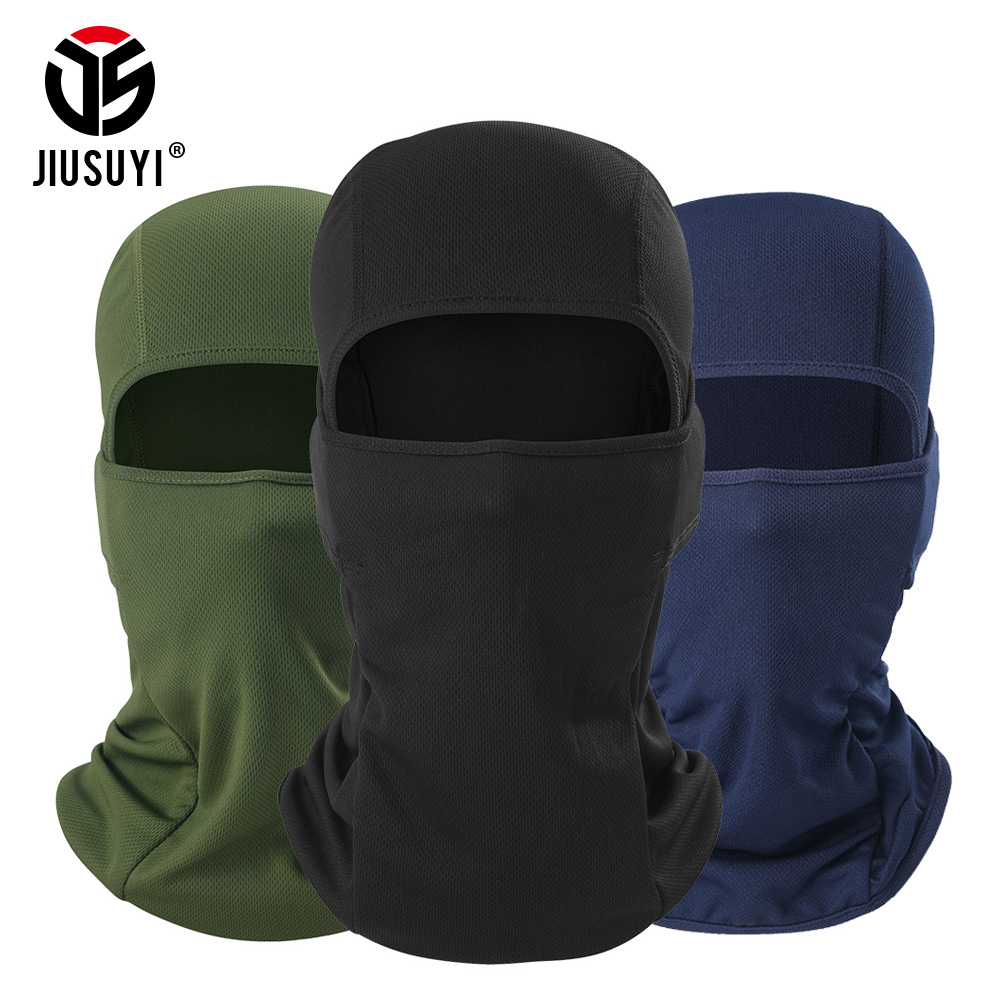 Multicam Camouflage Balaclava Cap Windproof Breathable Tactical Army Airsoft Paintball Full Face Cover Hats Beanies Men Women(China)