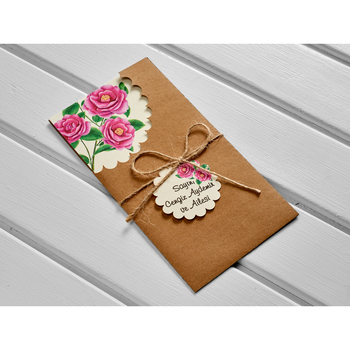 Laser Cut Luxury Wedding Invitations Cards Elegant Wedding Bridal Shower Gift Greeting Card Kits kod:10519