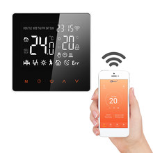 FLOUREON Smart WiFi Thermostat Heat Controller Touch Screen Electric heating Smart Temperature Control System For Home Office(China)