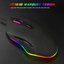 S500 макро программирующая игровая мышь rgb светильник кабельная