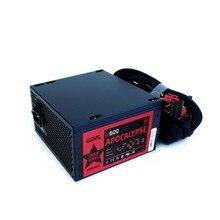 Блок питания 600W ATX e2e4 UNION APOCALYPSE, 80+, 120mm, APFC (U600)