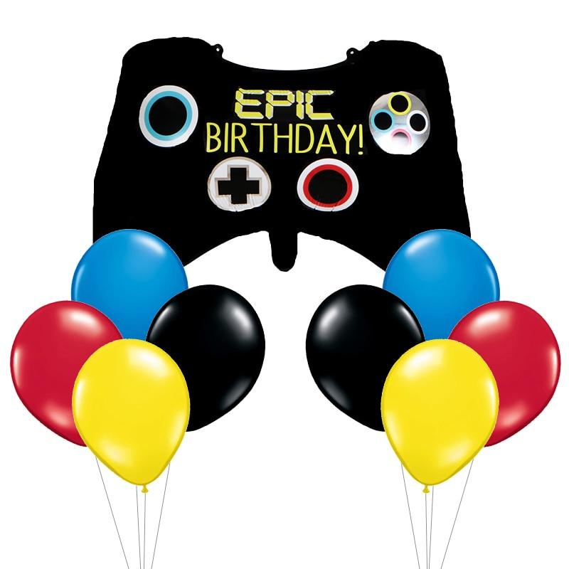 The Boy Man Balloons Super Hero Helium Globos Superman Ballon For Boy's Birthday Supplies Cartoon Hat