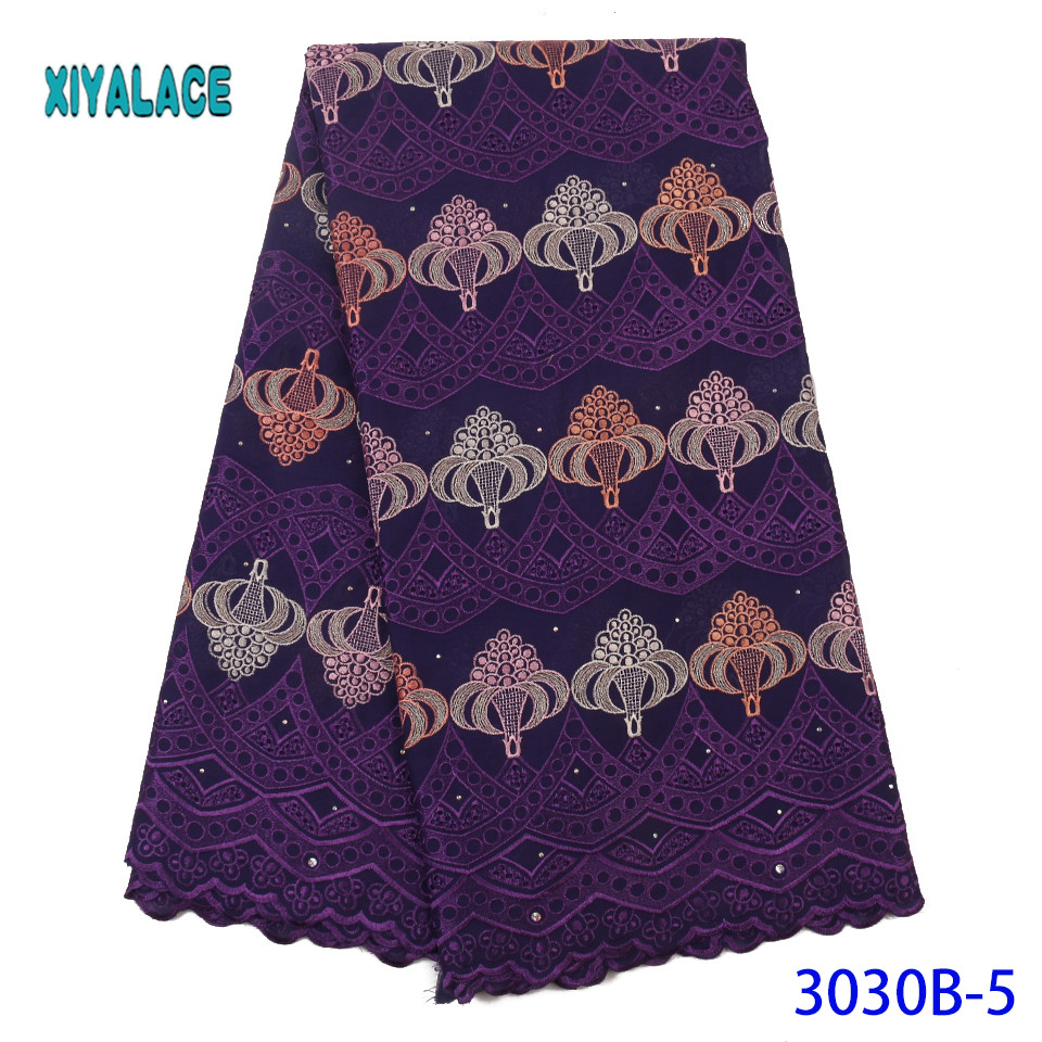 African Lace Embroidered 2019 High Quality Switzerland Lace French Lace Nigerian Net Fabric French Bridal Lace For Dress YA3030B