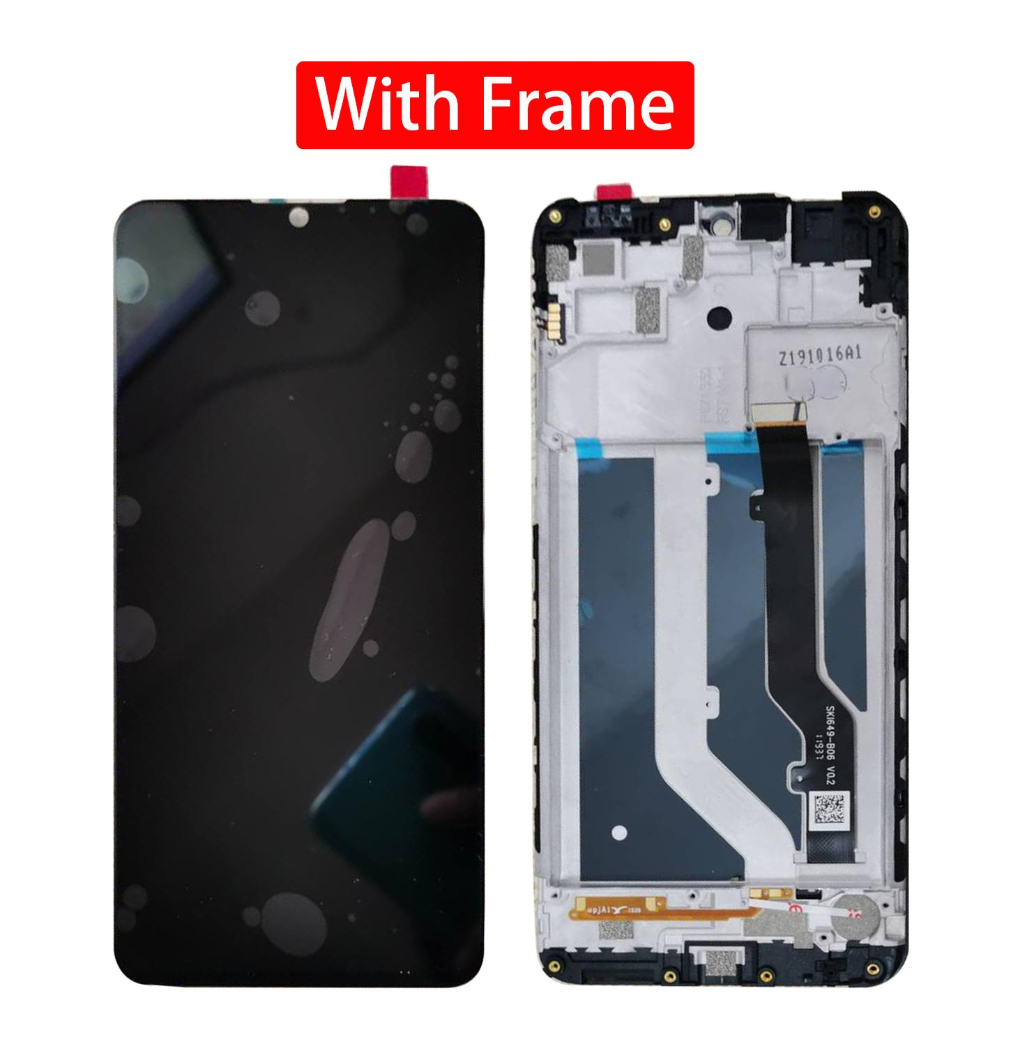 """Original 1560x720 New 6.49""""Inch Display For ZTE Blade 20 Smart V1050 LCD Display + Touch Screen Digiziter Assembly With Tools"""