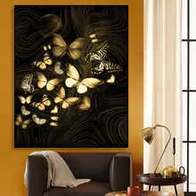 Wall Art Butterfly Canvas Painting Nordic Classic Posters And Prints Wall Picture For Living Room Decoration Modern Home Decor buddha statue canvas painting religious wall art picture for living room bedroom decoration posters and prints modern home decor