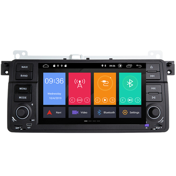 Auto Radio 1 Din Android 8.1 Car Dvd Player for Bmw E46 M3 318/320/325/330/335 Rover 75 1998-2006 Gps Navigation Bt Wifi