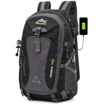 Мужской водонепроницаемый рюкзак сумка для кемпинга