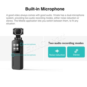 Image 5 - Snoppa Vmate 3 Axis Handheld Gimbal 4K Camera 200Mbps High Bitrate Video Record 118g WiFi 90° Rotating Lens VS Fimi Palm Moza