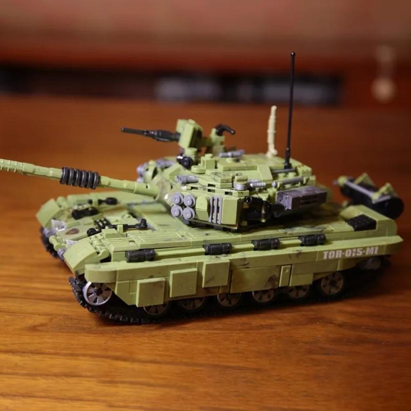 1386Pcs New Arrive Panzerkampfwagen VI Ausf. E Legoingly Tiger Tank Bricks Blocks Toys For Children Christmas Gifts