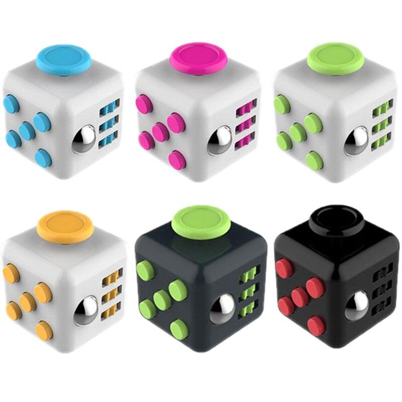 Новые игрушки-фиджеты, волшебный квадратный куб, антистресс, СДВГ, особые потребности, снятие беспокойства при аутизме, подарок для взрослы...
