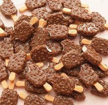 10 шт/лот кофейный Шоколад фруктовый полимерный слайм коробка