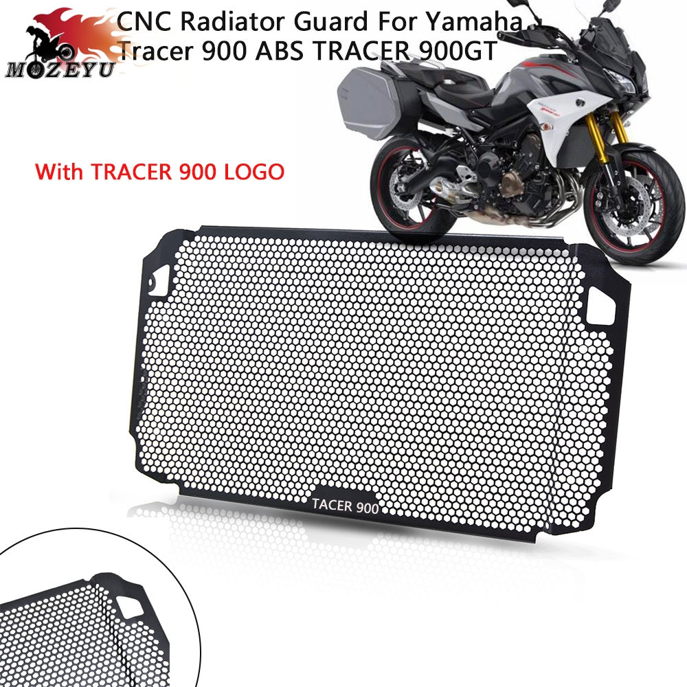 Black Radiator Grille Guard Protective Cover for Yamaha XSR900 2015-2016