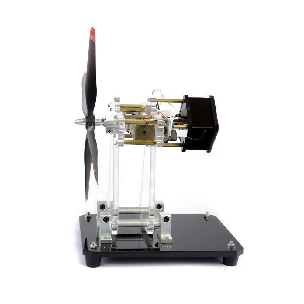 Moteur électro-aimant jouet moteur étoile moteur multi-cylindres modèle de moteur d'avion Science créative expérience cadeau bricolage - 2