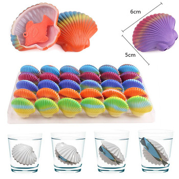 3pcs/lot Magic Soil Fsh Egg Hatching Egg Growing In Water Toys for Kids Bulk Swell Eggs Shell Fishes Expansion Creative Toys genotoxic potential in fishes