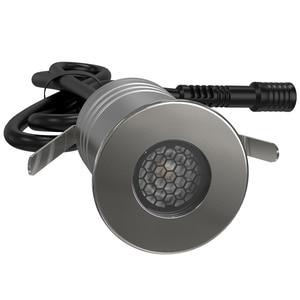 Image 2 - Honeycomb Grid Lamp IP67 1W 3W CREE LED Spotlight 12V 24V Grille Spot lighting IK10 CE