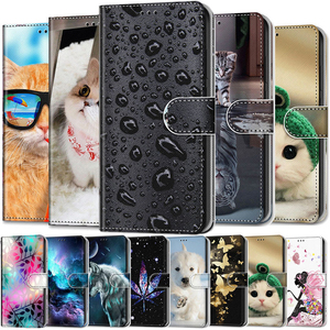 Leather Case For Xiaomi Redmi Note 4 4X 5 6 7 8 Pro 5A Fundas 3D Wallet Card Holder Stand Book Cover Coque Note8 Note7 Note6