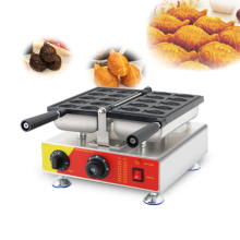 Commercial Electric Taiyaki Fish Waffle Maker Bread Maker Machine Pan Iron CE 110V 220V high efficiency commercial gas double plate 12pcs fish taiyaki waffle maker machine taiyaki maker commercial