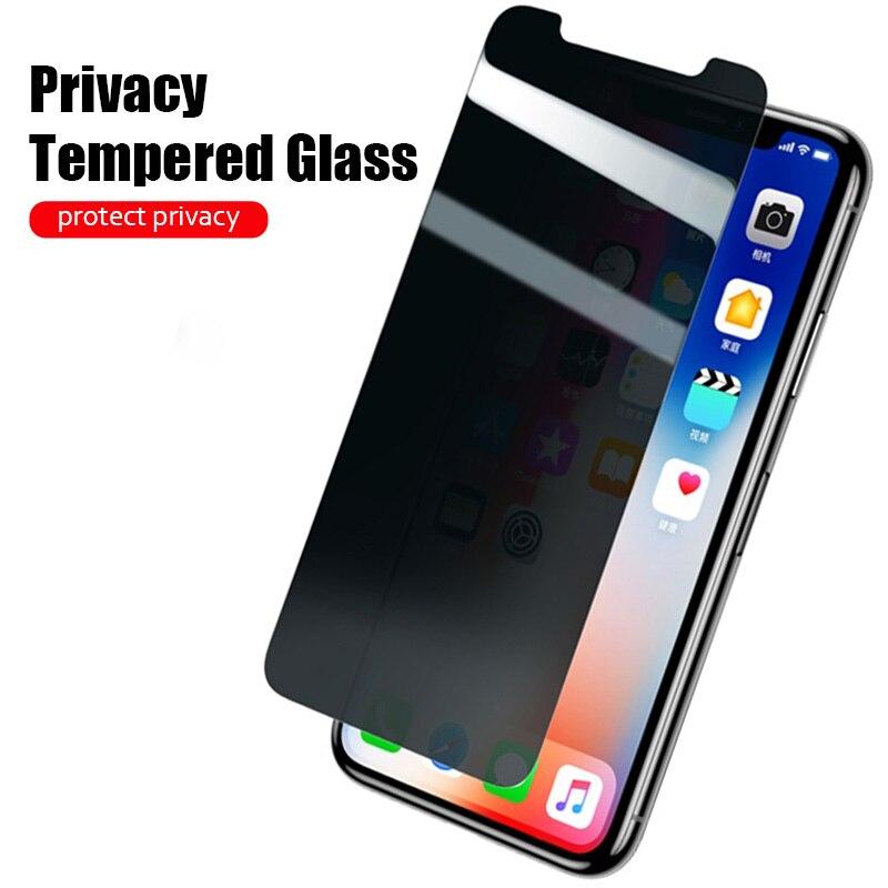 Конфиденциальности закаленное Стекло для Oneplus 7T 7 6 6 T чехлы для айфонов 5 5T Nord Анти-шпион Экран протектор для One Plus iPhone 7 iPhone 6 T 1 + Nord защитная пл...