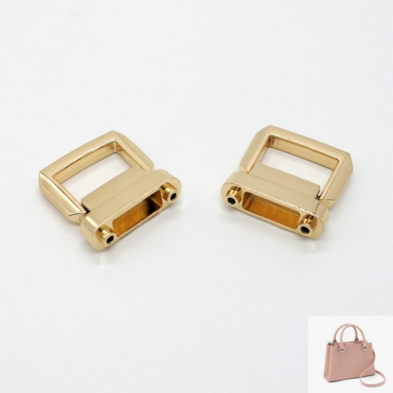 High Quality Handbags & Cases Hardware Handle Buckle Zinc Metal Handle Buckle High-end Women's Bags Buckle Wristlet Accessories