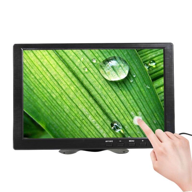 10,1 дюймов сенсорный экран портативный монитор ПК Ноутбук маленький ЖК-дисплей компьютер HDMI Raspberry pi игровой монитор 1366x768 USB порт