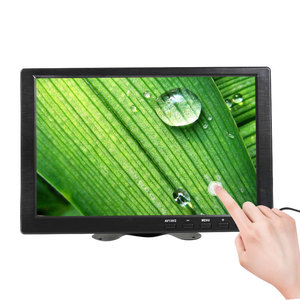 10.1 inch touch Screen Portable Monitor pc Laptop Small LCD Display Computer HDMI Raspberry pi gaming monitor 1366x768 USB Port(China)