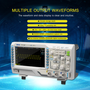DS1202Z-E Digital Oscilloscope Meter Desktop Oscillograph Oscillometer 2 Channel 200MHz Bandwidth 1GSa/s Sampling Rate(China)