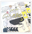 22 шт. милые Гусь наклейки для скрапбукинга DIY альбом журнал хлама happy planner декоративные наклейки