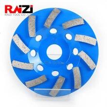 Raizi 5 дюймов/125 мм бетонный шлифовальный круг для углового