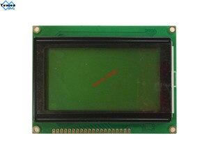 Image 3 - 128*64 Módulo de pantalla lcd STN pantalla azul verde retroiluminación blanca 5v s6b0107 LCM12864C 1 en lugar WH12864A LM12864LFW envío gratis