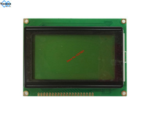 Image 3 - 128*64  lcd display module STN blue green screen white backlight  5v  s6b0107 LCM12864C 1 instead WH12864A LM12864LFW  free ship