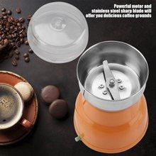 Электрическая кофемолка из нержавеющей стали домашний шлифовальный