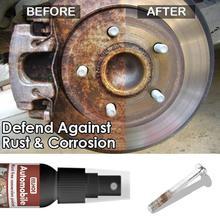 30ml Car Rust Remover Spray Metal Paint Super Remover Maintenance Rust Powder Iron Multi-Purpose Car Cleanin K9T4