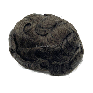 Image 5 - Breathable และธรรมชาติ Versalite toupee ready to ship ผมระบบ