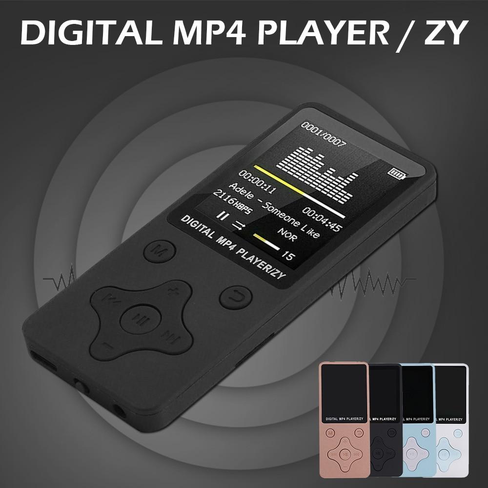 willkey Fashion Portable MP3 Player LCD Screen 32GB FM Radio Video Games Movie Walkman with Original AMV